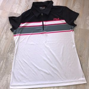 Fila Sport Performance Golf Shirt Size M